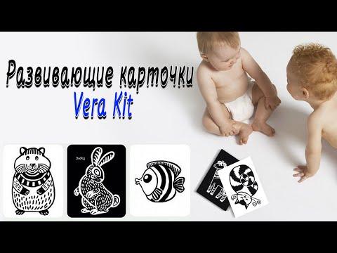 Развивающие карточки для детей Vera Kit