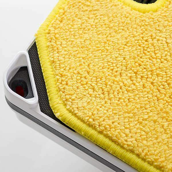 Желтая салфетка для влажной уборки робота Hobot