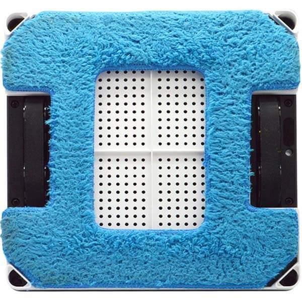 Синяя салфетка из микрофибры для робота-мойщика hobot