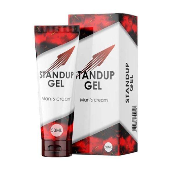 СтендАп гель (Stand Up Gel) - мужской интимный крем