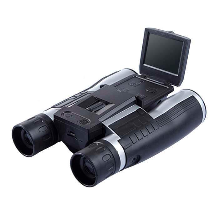 Цифровой охотничий бинокль ATN BINOX HD вид с боку