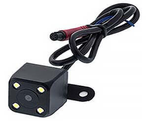 Камера заднего вида на 4-ч светодиодах видеорегистратора Fugicar FC8