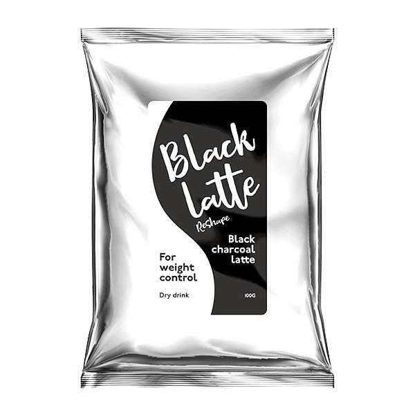 Black Latte - угольный кофе - ф.3