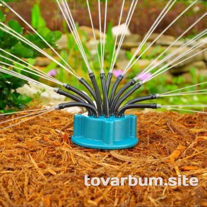 Fresh Garden - система полива в действии