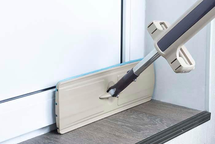 Швабра-лентяйка Cleaner 360 моет в труднодоступных местах