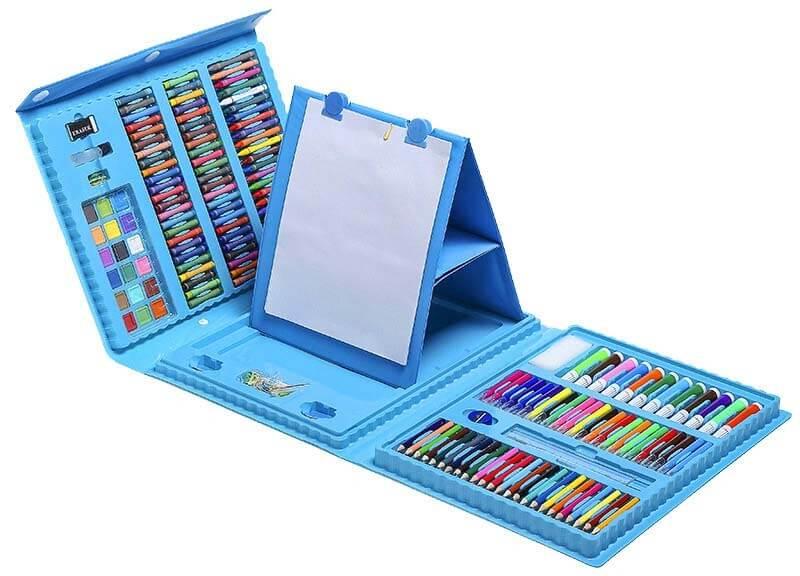 Детский набор для творчества – синего цвета