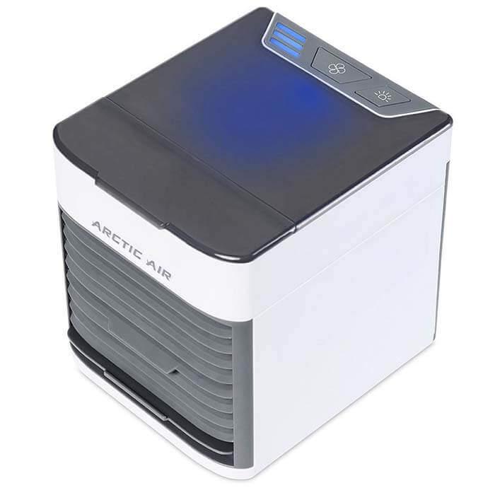Кондиционер Arctic Air Ultra с включенной подсветкой