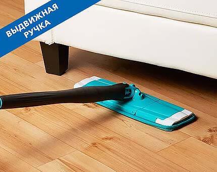 Швабра Titan Twist Mop оснащена выдвижной ручкой