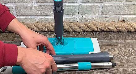 Швабра Titan Twist Mop в разложенном состоянии