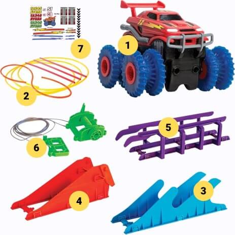 Комплектация Trix Cars