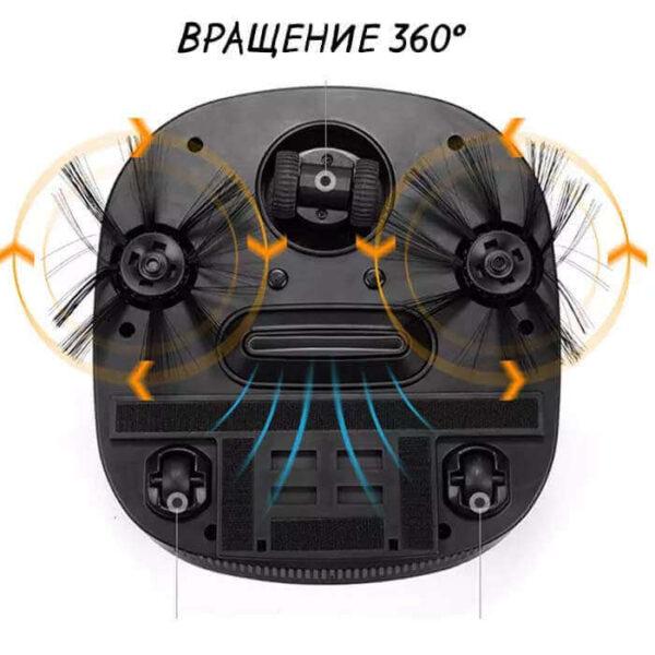 Пылесос iRoom может вращаться на 360 градусов