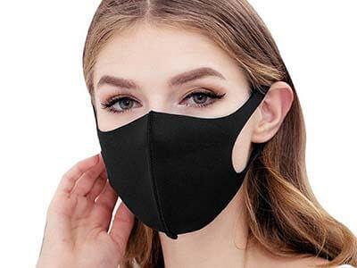 Многоразовая защитная маска обеспечивает надежную защиту плотно прилегая к лицу, не оставляя зазоров и не затрудняя дыхание